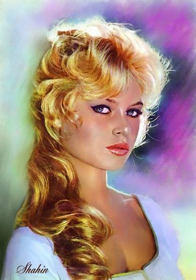Brigitte Bardot by shahin